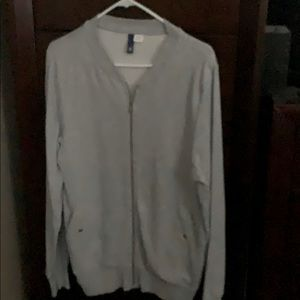 H&M zip up sweater size small